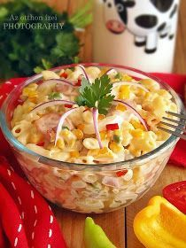 Veggie Recipes, Salad Recipes, Snack Recipes, Cooking Recipes, Healthy Recipes, Eastern European Recipes, Hungarian Recipes, Special Recipes, Food Inspiration