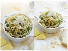 lemon and fresh herb pasta 400g spaghetti or linguine Small bunch flat ...