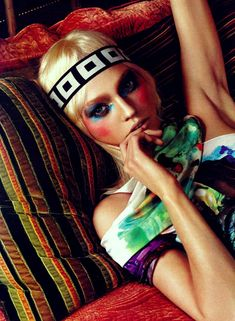 Morning Beauty   Sasha Pivovarova by Anthony Ward   Fashion Gone Rogue: The Latest in Editorials and Campaigns