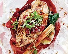 Asian Chicken-in-a-Bag with Sour Cherries