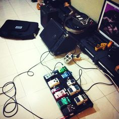 My guitar pedals
