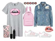 """""""губки"""" by ekaterina-stepura on Polyvore featuring мода, Topshop, adidas, Givenchy, Casetify и Marc Jacobs"""