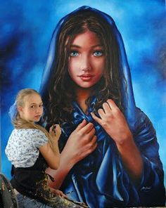 Akiane Kramarik: Professional Child Artist Making Millions Akiane Kramarik Paintings, Heaven Art, Jesus Painting, Peace Painting, Christian Paintings, Art Thomas, Magazine Pictures, American Poets, Artists For Kids