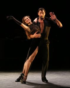 Karina and Maks in Forever Tango