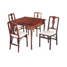 Simple in design and versatile in function, the Stakmore Traditional Expanding Dining Table - Cherry is really three tables rolled into one! Table And Chair Sets, A Table, Console Table, Dining Table Dimensions, Expandable Dining Table, Wood Dust, Table Seating, Dining Table In Kitchen, Dining Tables