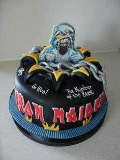 Iron Maiden Cake xMCx