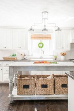 10 Ways to Add Character to a White Kitchen | Over the past three years, we've been slowly and surely finding ways to add character to our blank-slate white painted kitchen. Read on to see my tips and tricks for warming up this space! #kitchens #whitekitchens #homedecor