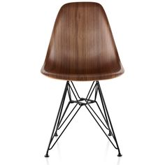 Herman Miller Eames Molded Wood Side Chair with Wire Base ($649)