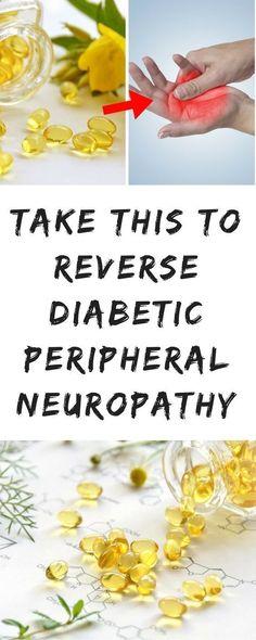 Take this to Reverse Diabetic Peripheral Neuropathy