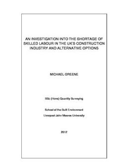 Quantity surveying dissertation help