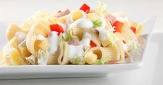 Lagris | Těstovinový salát s tuňákem Fruit Salad, Food, Fruit Salads, Meals, Yemek, Macedonia, Eten