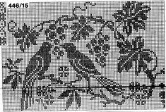Point de croix -m@- cross stitch Monochrome
