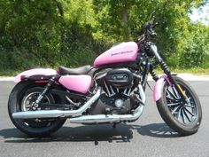 Pink! I want it!    2011 Harley-Davidson XL883N Sportster® Iron 883™