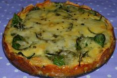 Kiš bez mouky Veggie Recipes, Low Carb Recipes, Cooking Recipes, A Food, Food And Drink, Bon Appetit, Healthy Life, Paleo, Easy Meals
