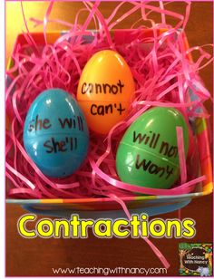 egg contractions
