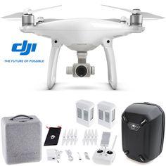 DJI Phantom 4 Advanced Quadcopter Drone w/ Hardshell Backpack + Spare Battery #ad
