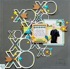 layout made by @adriennealvis using the July #embellishmentkit