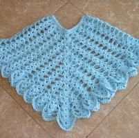 Sheer Heaven Crochet Poncho Pattern - via @Craftsy