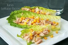 7Alive all Livin' in a Double Wide: Healthy Tuna Lettuce Tacos