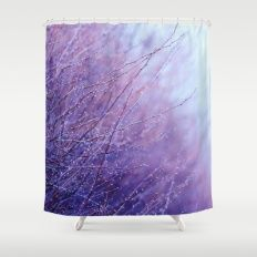 Little signs of spring Shower Curtain