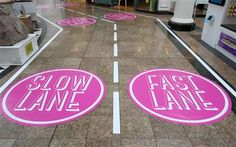The new `fast' and `slow' lanes which have been introduced at Meadowhall Shopping Centre, Sheffield, South Yorkshire Global Business, Business News, Marketing Words, Mini Facial, Traditional Market, Order Book, South Yorkshire, Alternative News, Global Economy