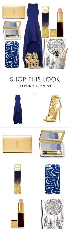 """Ravenclaw Outfit"" by red-black-grey on Polyvore featuring BCBGMAXAZRIA, Giuseppe Zanotti, Yves Saint Laurent, Estée Lauder, Michael Kors, Tom Ford and ESSEY"