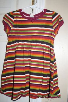 Gymboree striped dress 2T EUC #Gymboree #Dress #Everyday