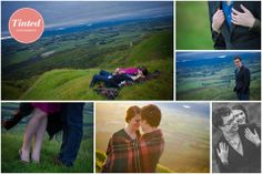 What an adorable couple! - Engagement Shoot #engagementshoot  #adorablecouple