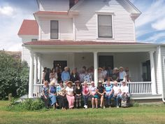 Livermore Woman's Club August 2013 celebrating at the home of the clubs 1st president Sylvia Gilpin Brown 1896, Livermore, Colorado...117 years and still going strong!