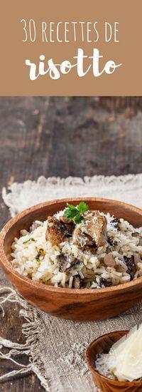Aux champignons, au saumon, au curry : 30 recettes de risotto !