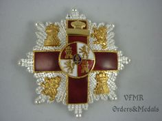 Spain, Order of Military Merit, Cross 1st Class red (war actions) (1975-1995)
