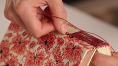 Buttonhole Stitch Journal - Online Class with Bari Zaki Handmade Journals, Handmade Books, Online Art Classes, How To Introduce Yourself, How To Make, Craft Box, Craft Ideas, Book Binding, Little Books