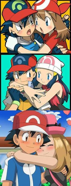 Advanceshipping ^.^ ♡ Pearlshipping ^.^ ♡ Amourshipping ^.^ ♡ I give good credit to whoever made this