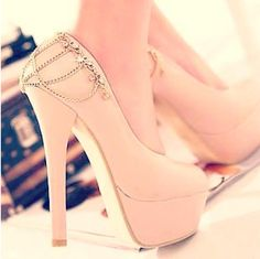 tumblr light pink heels quinceanera - Google Search