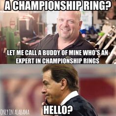He knows all about it!!! ROLL TIDE