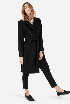 The Wool Trench from Everlane