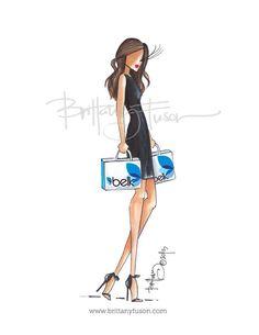 quenalbertini: Belk by Brittany Fuson Fashion Dolls, Fashion Art, Fashion Show, Fashion Outfits, Ballet Fashion, Fashion Design Drawings, Fashion Sketches, Fashion Illustrations, Become A Fashion Designer