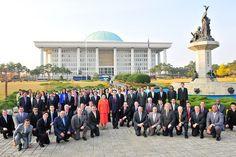 한국 방문한 200여 외국인 행렬, 하나님의 교회 찾아
