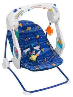 Fisher-Price Aquarium Take-Along Swing (Discontinued by Manufacturer) Cute Funny Baby Videos, Cute Funny Babies, Fisher Price Aquarium, Baby Swings And Bouncers, Play Gym, Playpen, Everything Baby, Baby Boy Gifts, Baby Play