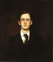 John French Sloan, Self-portrait, 1890 The Ashcan School, also called the Ash Can School, is an artistic movement in the US during the early 20th century which is best known for works portraying scenes of daily life in New York. This school often in the city's poorer neighbourhoods.  The movement is also an emblematic of the spirit of political rebellion during that period. This painting is based on John French Sloan's daily life because it is his self-portrait.