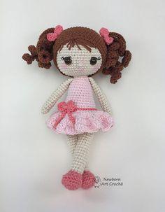 Amigurumi Patterns, Amigurumi Doll, Doll Patterns, Crochet Doll Pattern, Crochet Dolls, Crochet Patterns, Crochet Eyes, I Love This Yarn, Homemade Toys