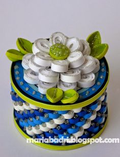 Chronicles of Maria: Quilled Jewellery boxes