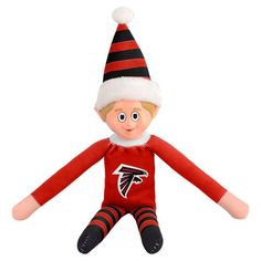 It's the most wonderful time of the year and that means spreading Buffalo Bills cheer for all to see! This adorable Buffalo Bills Plastic Face Elf will bring some Buffalo Bills spirit to your holiday party this year. Everyone will love this plush little g Nebraska Cornhuskers, Wisconsin Badgers, Michigan Wolverines, Mlb Teams, Nhl Jerseys, Detroit Red Wings, Georgia Bulldogs, Alabama Crimson Tide, San Francisco 49ers