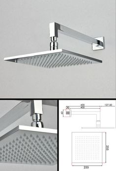 Square Shower Heads | Large Square Shower Heads £169 living stone bathrooms