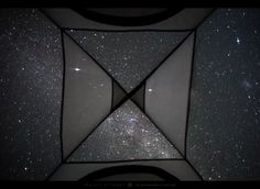'Looking up at the stars from inside my tent' - Photography by Mark Gee. [960x700]