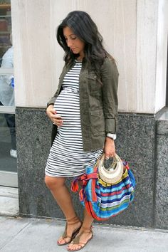 Stripes and khaki