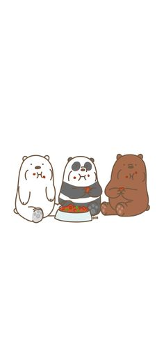 Cute Panda Wallpaper, Cartoon Wallpaper Iphone, Bear Wallpaper, Cute Disney Wallpaper, Iphone Background Wallpaper, Kawaii Wallpaper, Aesthetic Iphone Wallpaper, We Bare Bears Wallpapers, Panda Wallpapers
