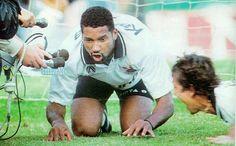 Viola imitando porco - Corinthians x Palmeiras - 1993