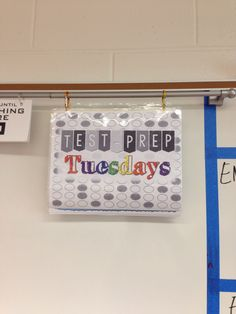 Test-prep Tuesdays for bell ringers. I give sample PLAN and ACT test questions. www.traceeorman.com