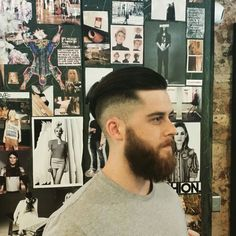 Gro London gents cut by Stephen at our Putney salon